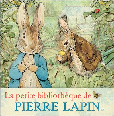 La petite bibliothèque de Pierre Lapin