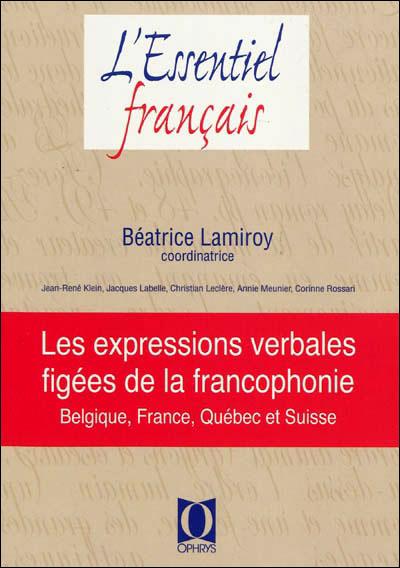 Les expressions verbales figées de la francophonie