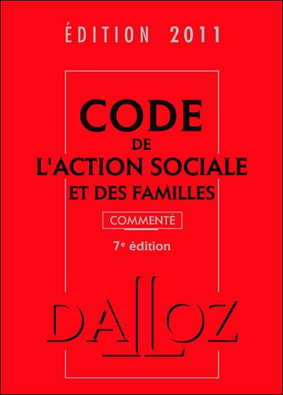Code de l'action sociale et des familles commenté