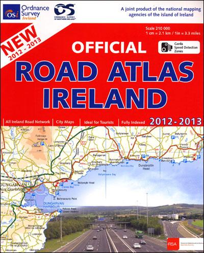 Ireland complete road atlas