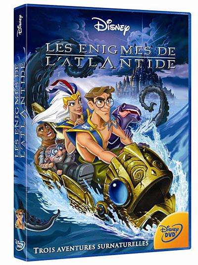Les Enigmes De L Atlantide Tad Stones Toby Shelton Victor A Cook Dvd Zone 2 Achat Prix Fnac