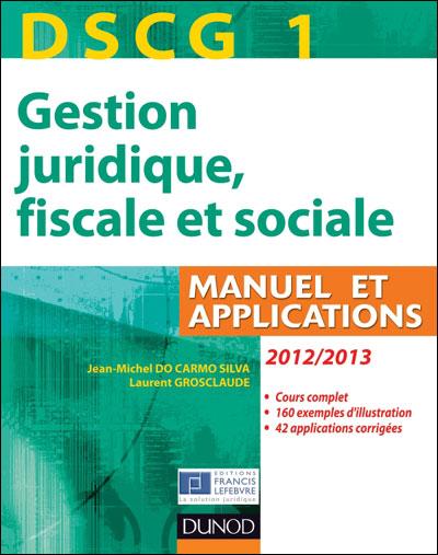 DSCG1 gestion juridique, fiscale et sociale