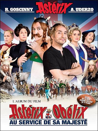 Astérix au service de sa Majesté - Album du film