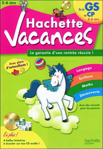 Hachette Vacances - de GS à CP - 5/6 ans
