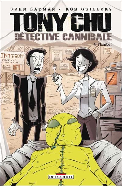 Tony chu, detective cannibale t04 flambe
