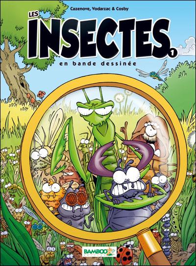 Les Insectes en BD