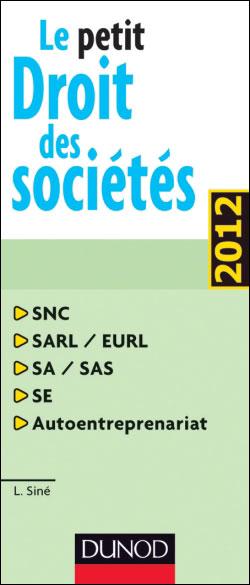 Le petit droit des sociétés