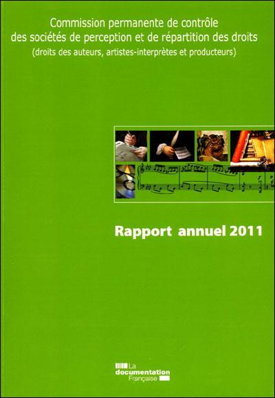 Rapport annuel 2011 des SPRD