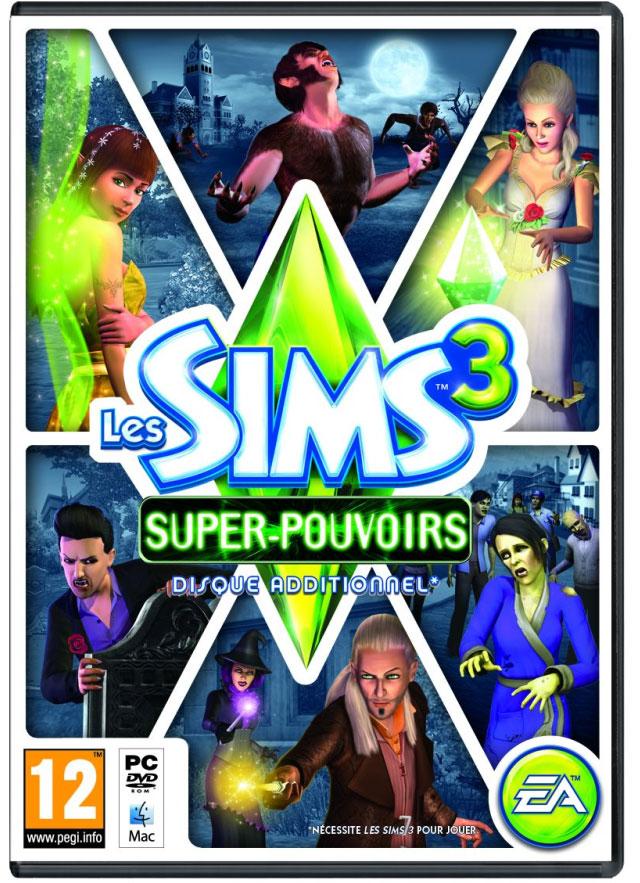 Les Sims 3 - Super Pouvoirs - Jeux vidéo - Achat & prix | fnac