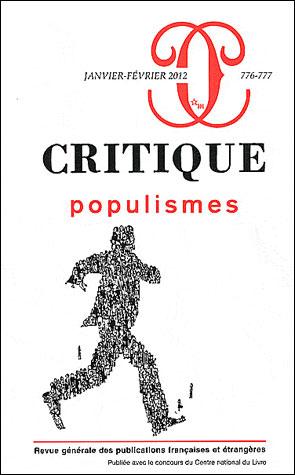 Critique 776 777 populismes