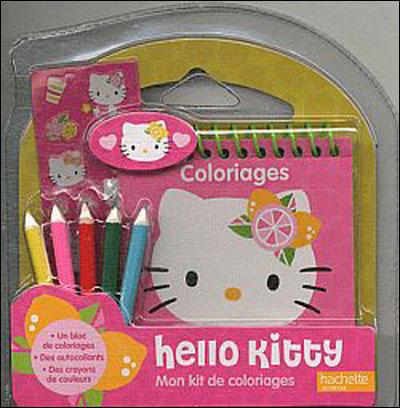 Hello Kitty -  : Mon kit de coloriages Hello Kitty (produit d'appel marketing opé Hello Kitty)