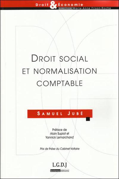 Droit social et normalisation comptable