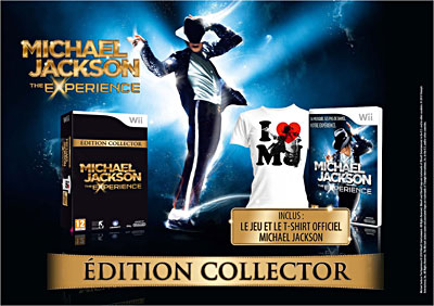 Michael Jackson - The Experience Edition collector - Nintendo Wii