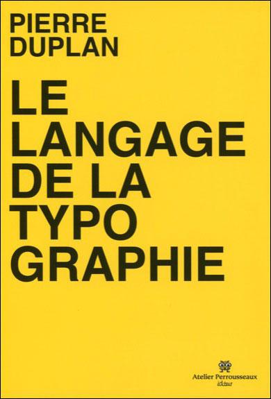 Le langage de la typographie