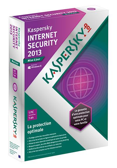 - SubTitle 1 an de mise à jour, version 1 poste - Editeur Kaspersky lab - Public