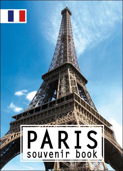Paris souvenir book