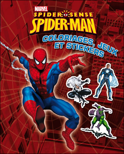 Spider-Man - Tome 1 : Super stickers