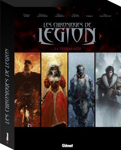 Les chroniques de légion - Coffret 4 volumes Tome 1  à Tome 4 : Les Chroniques de Légion - Coffret Tomes 01 04