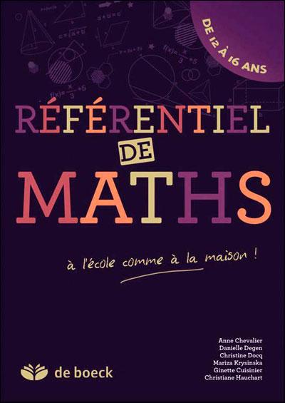 Référentiel de mathématique