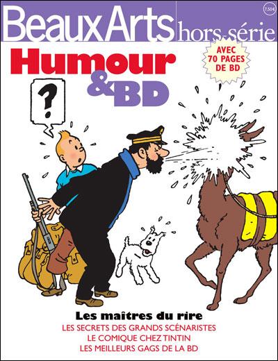 Humour et bande dessinee - beaux arts hors-serie
