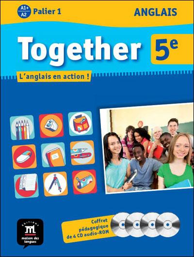 Together anglais 5e pack du professeur