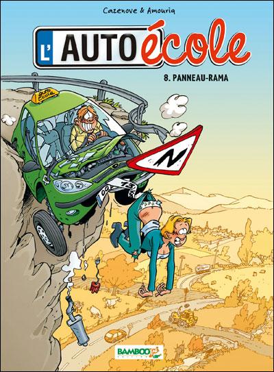 L'Auto école - tome 8 - Panneau-rama