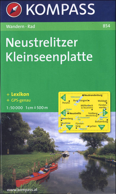 Neustrelitzer Kleinseenplatte - Kompass Karten