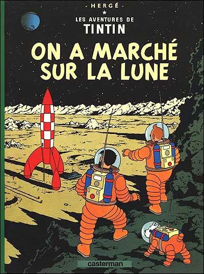 On a marché sur la lune - tome 17 - Les Aventures De Tintin