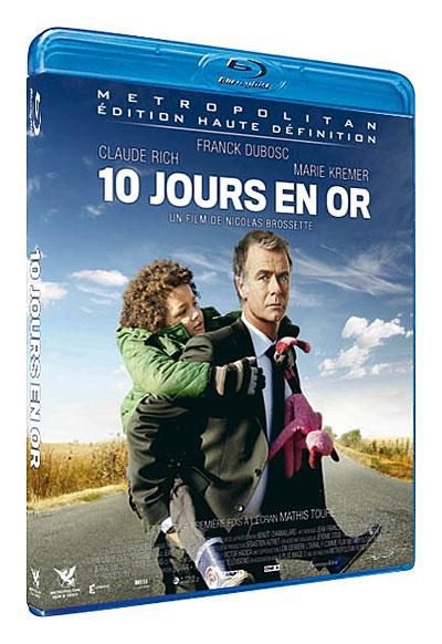 10 Jours en or Blu ray