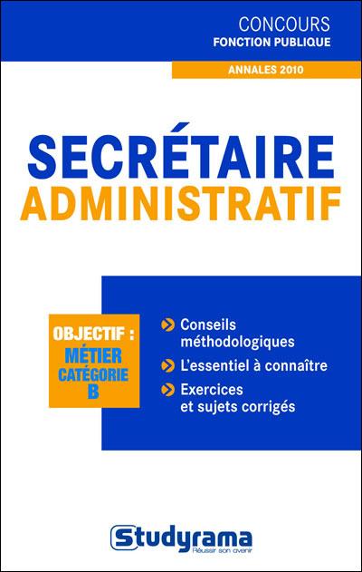 Secrétaire administratif, catégorie B