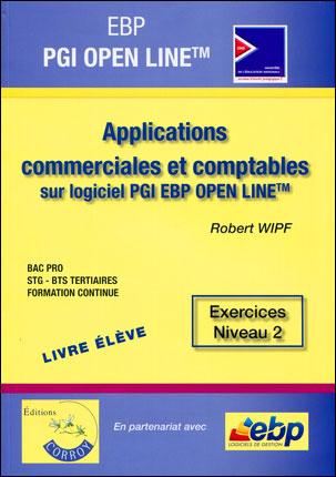 EBP PGI Open Line Pro : applications commerciales et comptables