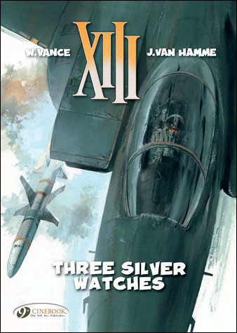 XIII - tome 11 Three silver watches