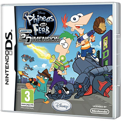 Phineas et Ferb - Voyage dans la deuxième dimension