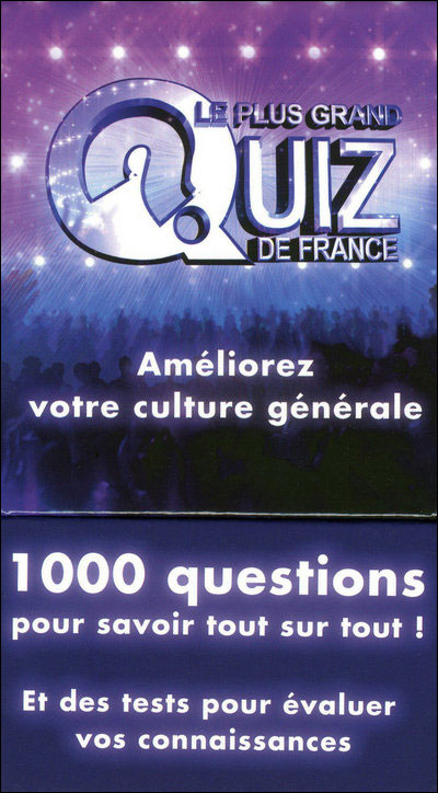 Coffret Le plus grand quiz de France
