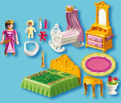 Playmobil Princess 5146 Chambre de la reine - Playmobil - Achat ...