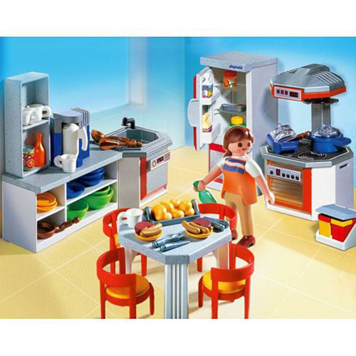 Playmobil 4283 Cuisine Equipee Playmobil Playmobil Achat