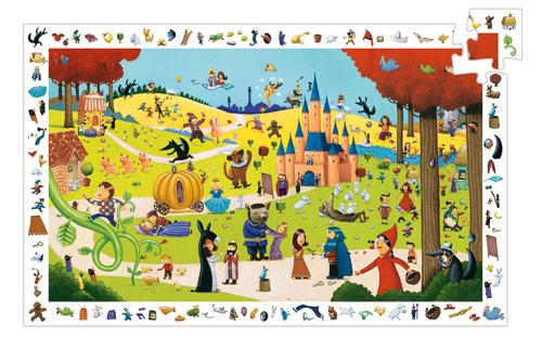 Djeco Puzzle Contes 54 pièces