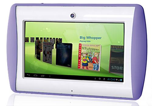 Tablette Tactile enfant Oregon Scientific MEEP Violet