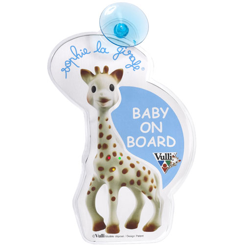 Vulli - Sophie la Girafe - Flash Baby On Board