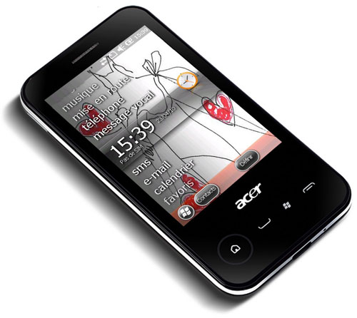 Acer newTouch P400 Windows Phone