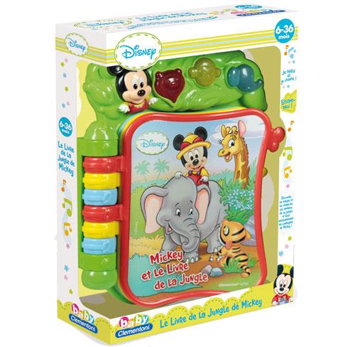 Clementoni Le Livre Musical De Mickey