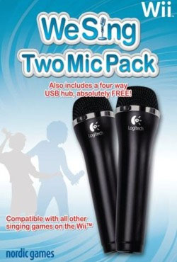 2 Micros We Sing Logitech pour Wii