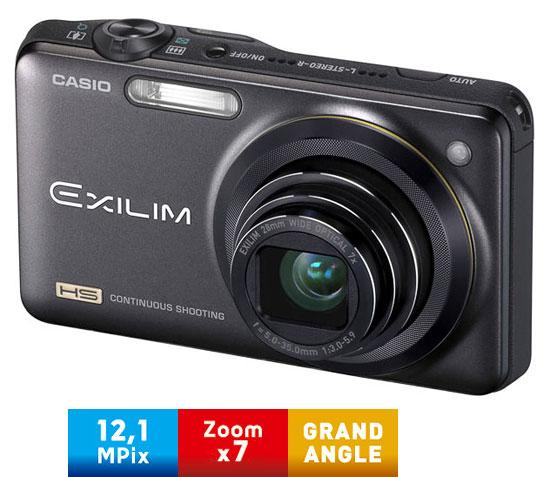 Casio Exilim EX ZR10 Noir