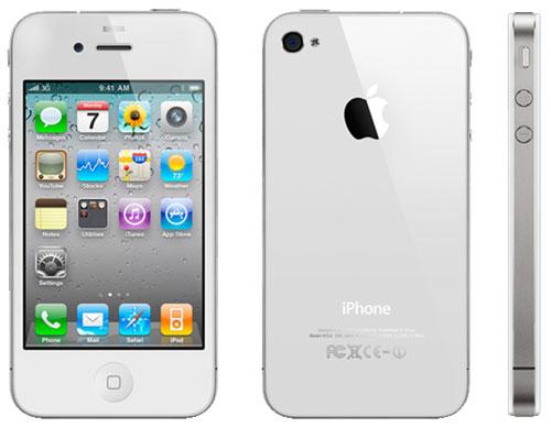 iphone 4 blanc neuf