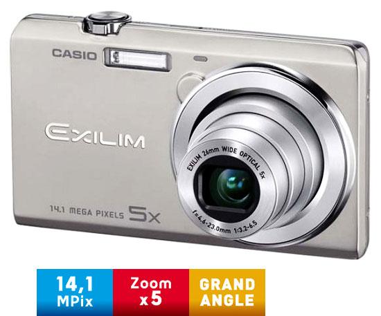 Casio Exilim EX ZS10 Argent