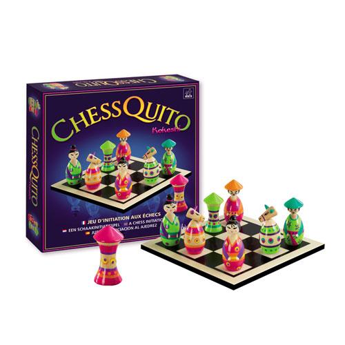 Sentosphère Chessquito Kokeshi