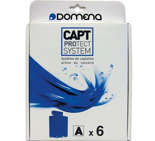 Domena Pack de 6 cassettes anticalcaires Type A