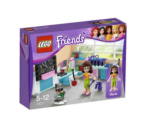 LEGO® Friends 3933 L'atelier scientifique d'Olivia