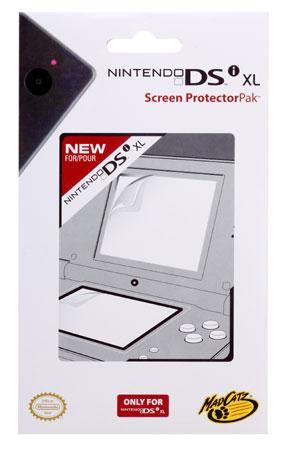 4 Protections écrans MadCatz pour DSi XL