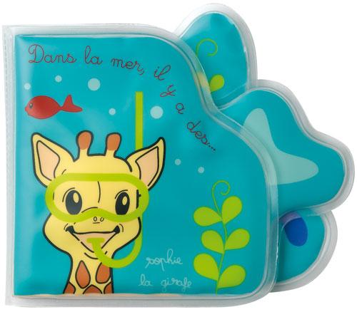 Vulli - Sophie la Girafe - Livre de bain